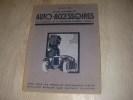ETABLISSEMENTS AUTO-ACCESSOIRES - SAISON 1928. CATALOGUE AUTOMOBILE
