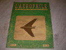 L'AEROPHILE 53°ANNEE N°10  JUILLET 1946. COLLECTIF