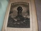 L'EXPLORATEUR GEOGRAPHIQUE ET COMMERCIAL -2°ANNEE 3° VOLUME PREMIER SEMESTRE 1876-(32 NUMEROS). COLLECTIF