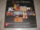 COEUR D'ARTISTES!- VENTE AU PROFIT DE L'ORDRE DE MALTE JEUDI 20 OCTOBRE 2011. [CATALOGUE DE VENTE]