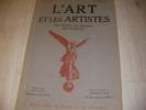 L'ART ET LES ARTISTES 23°ANNEE N°92 DECEMBRE 1928. LOUKOMSKI - DE THUBERT- ARCOS R.- LADOUE P.- TISSERRAND E.
