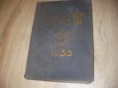 ALMANACH CITRON 1933. CITROEN