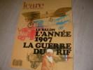 ICARE N°121 1987- LE SALON - L'ANNEE 1907 - LA GUERRE DU RIF. [REVUE ICARE] COLLECTIF