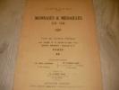 COLLECTION DE M. DE C.- MONNAIES ET MEDAILLES EN OR ( 18-19 JUIN 1934). [CATALOGUE DE VENTE]- NUMISMATIQUE