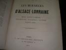 LES MURAILLES D'ALSACE-LORRAINE - METZ SARREGEMINES STRASBOURG HAGUENAU SAVERNE NANCY... -  LES MURAILLES POLITIQUES FRANCAISES TOME II: LA COMMUNE: ...