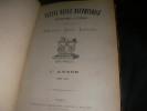 PETITE REVUE DAUPHINOISE BIBLIOGRAPHIQUE ET LITTERAIRE 1ère ANNEE 1886-1887. COLLECTIF