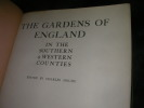 THE GARDENS OF ENGLAND IN THE SOUTHERN AND WESTERN COUNTIES. COLLECTIF