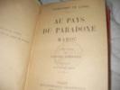 AU PAYS DU PARADOXE- MAROC. TRANCHANT DE LUNEL