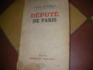 DEPUTE DE PARIS. DAUDET LEON