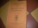 LA REVOLUTION NATIONALE- PHILOSOPHIE DE LA VICTOIRE. VALOIS GEORGES