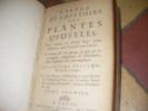 ABREGE DE L'HISTOIRE DES PLANTES USUELLES DANS LEQUEL ON DONNE LEURS NOMS DIFFERENS, TRANT FRANCOIS QUE LATINS.. TOME 1 SEUL. CHOMEL J.B.