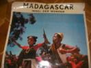 MADAGASCAR- INSEL DER WUNDER. [AFFICHE ORIGINALE] MADAGASCAR