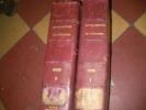 REVUE MILITAIRE DE L'ETRANGER - PREMIER SEMESTRE 1901 DU N°878(JANVIER 1901) AU N°883(JUIN 1901)ET DEUXIEME SEMESTRE 1901 DU N°884 (JUILLET 1901) AU ...