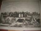 CAMPEMENT SUR L'HABITATION DE J. SLABER A THEE FONTYN. [GRAVURE ANCIENNES][LE VAILLANT FRANCOIS]