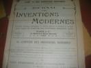 JOURNAL DES INVENTIONS MODERNE N°1- LE COMPTOIR DES INVENTIONS MODERNES ANNEE 1912. CATALOGUE PUBLICITAIRE