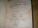ATLAS CLASSIQUE UNIVERSEL DE GEOGRAPHIE ANCIENNE ET MODERNE COMPOSE DE 86 CARTES DONT 9 DOUBLES DRESSE D'APRES LES MATERIAUX LES PLUS RECENTS PAR ...