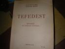 TEDEFEST - MEHAREE AU SAHARA CENTRAL. CARL LOUIS- PETIT JOSEPH