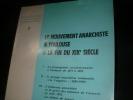 LE MOUVEMENT ANARCHISTE A TOULOUSE A LA FIN DU XIX°SIECLE. COLLECTIF