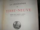 LA GEOGRAPHIE DE TERRE-NEUVE. PERRET ROBERT
