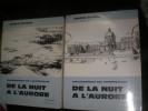 DE LA NUIT A L'AURORE- CONVERSATIONS SUR L'ARCHITECTURE      (2 TOMES). GUTTON ANDRE
