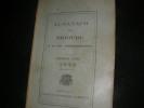 ALMANACH DE BRIOUDE ET DE SON ARRONDISSEMENT - TROISIEME ANNEE 1922.