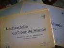 LE PORTFOLIO DU TOUR DU MONDE (20 FASCICULES).