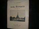 JAVA BIRMANIE- SOUVENIRS DE VOYAGE. QUENEDEY L.