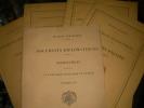DOCUMENTS DIPLOMATIQUES- 1/ NEGOCIATIONS RELATIVES A LA REFORME JUDICIAIRE EN EGYPTE NOVEMBRE 1875 2/AFFAIRES D'EGYPTE 1881 3/ INDEMNITES EGYPTIENNES ...