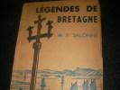LEGENDES DE BRETAGNE. SALONNE M.P.