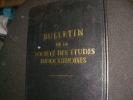BULLETIN DE LA SOCIETE DES ETUDES INDOCHINOISES N°4                      4°TRIMESTRE 1951. COLLECTIF
