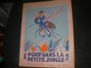 POUF DANS LA PETITE JUNGLE. PIERRE JOUBERT- LOUIS SIMON