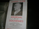 JOURNAL- SOUVENIRS 1939-1949. ANDRE GIDE