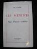 LES MINIMES- PAGES D'HISTOIRE ROCHELAISE. COUTANT B.
