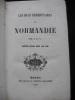 LES DUCS HEREDITAIRES DE NORMANDIE. A.D.L.