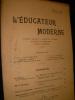 L'EDUCATEUR MODERNE - MARS 1907. COLLECTIF