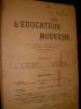 L'EDUCATEUR MODERNE- FEVRIER 1907. COLLECTIF