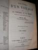 SOUVENIRS D'UN VOYAGE DANS LA TARTARIE ET LE THIBET PENDANT LES ANNEES 1844 1845 ET 1846.( 2 TOMES). HUC