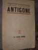 ANTIGONE. ANOUILH JEAN