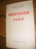 NOSTALGIE DE PARIS. CARCO FRANCIS