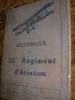 HISTORIQUE DU 35°REGIMENT D'AVIATION. GUERRE 1914-1918