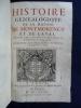 Histoire généalogique de la maison de Montmorency et de Laval. suivi de, Preuves de l'histoire de la maison de Montmorency; 10 Belles figures de ...