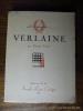 Verlaine (à la gloire de). Carco Francis