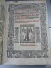 5 ouvrages d'une insigne rareté imprimés à Lyon de 1525 à 1533,par Moylin et par Mareschal. Prima pars consiliorum domini Philippi Decii(...) Secunda ...