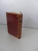 Traduction italienne d'Horace en partie originale, imprimée en 1559 à Venise, parfaitement reliée en maroquin rouge fin XVIIIème. I dilettevoli ...
