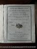Atlas portatif à l'usage des collèges pour servir à l'intelligence des auteurs classiques  ATLAS Grenet Cartes de Bonne geographie Américana Afrique ...