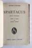 Spartacus – Roman historique. KOESTLER, ARTHUR
