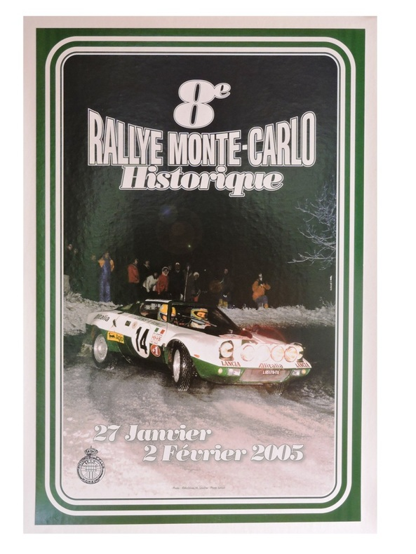 8ème RALLYE MONTE-CARLO HISTORIQUE.