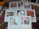 ALGERIE - COLLECTION ART ET HISTOIRE - COMPLET EN 8 VOLUMES. Collectif
