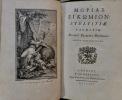 (Moriae Enkomiom) : Stultitiae Laudatio. Disderi Erasmi Declamation. Editio Castigatissima.. (Eloge de la Folie) - ERASME.