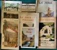 Ensemble de 3 guides consacrés au Jura et à la Franche-Comté.. JURA - Guides touristiques.